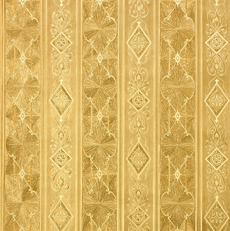 3d Luxurious Palace Striped Wallpaper European Damascus Luxury Gold Wallpaper Roll Living Room Bedroom Background Wallpaper Roll