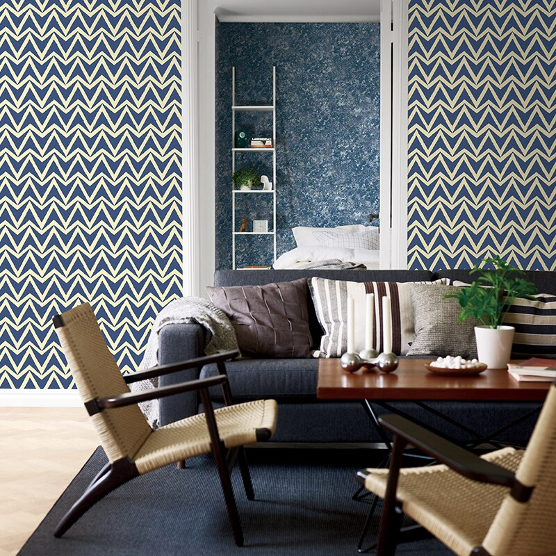 Modern Wall Murals Abstract 3d Wavy Curved Stripes Geometric Wallpaper 3d Bedroom Living Room Background Wallpaper Coverings