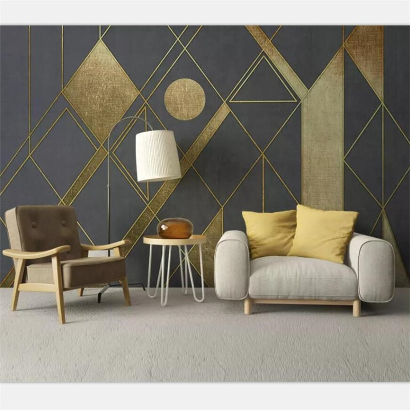 Wallpaper Custom Large High-end Nordic Simple Personality