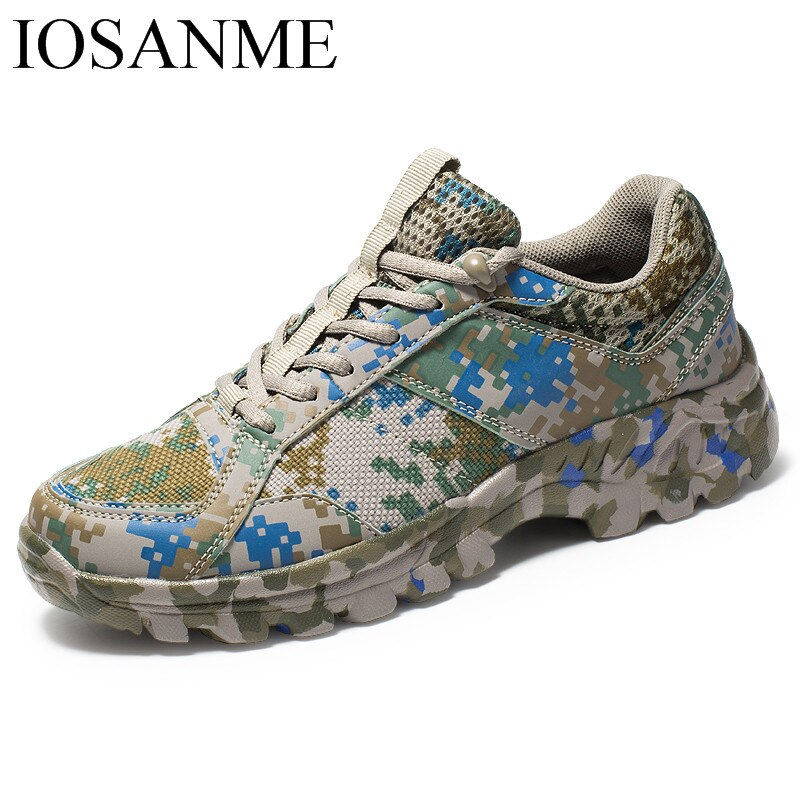 Mens Fashion Camouflage Sport Shoes Male Casual Flats Sneakers Outdoor Breathable Chaussure Homme