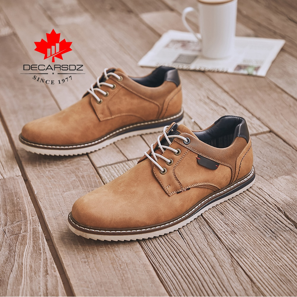 Men Brand Leather S Casual Shoes
